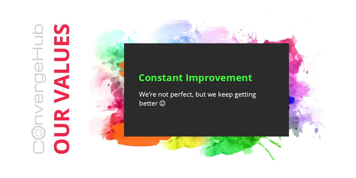 constant improvement