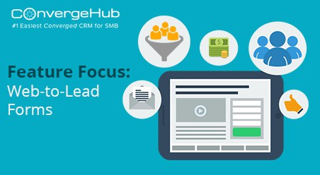 ConvergeHub Feature Web to Lead Form