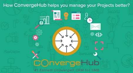 Advanced Project Management with CRM software ConvergeHub