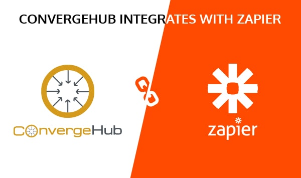 ConvergeHub for use with Zapier- Available Now