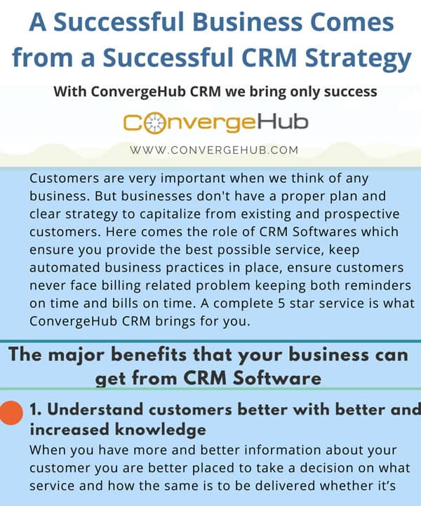 A Successful Business Comes from a Successful CRM Strategy