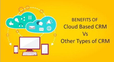 Benefits of Cloud-Based CRM Vs Other Types of CRM