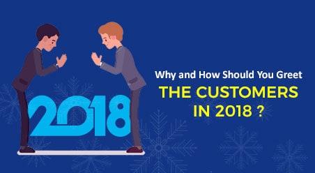 Greet the customers