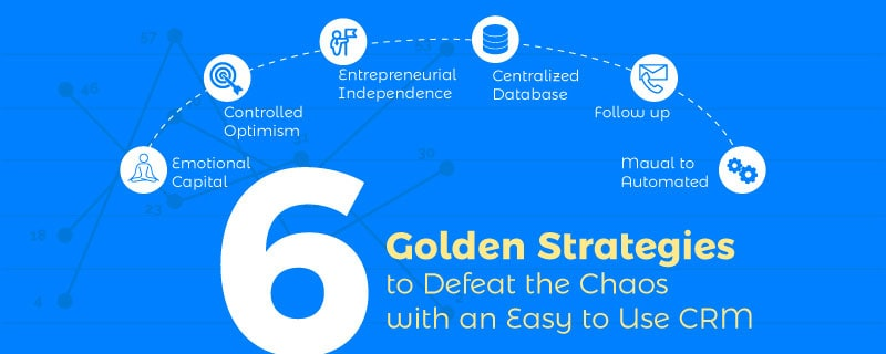 6 Golden Strategies to Defeat the Chaos with an Easy to Use CRM