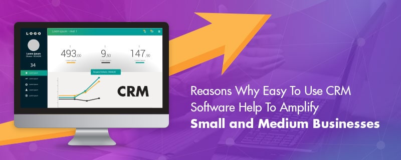 Easy to use CRM software
